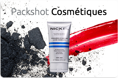 Photographe Packshot Cosmetiques