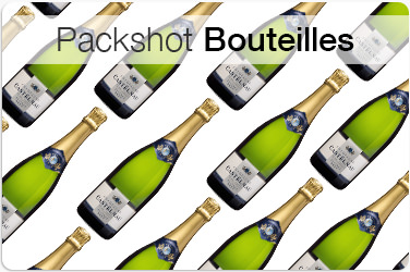 Studio photo Packshot Bouteille