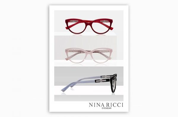 Lumiprod, photographie publicitaire avec mise en scène de trois paires de lunettes de luxe.