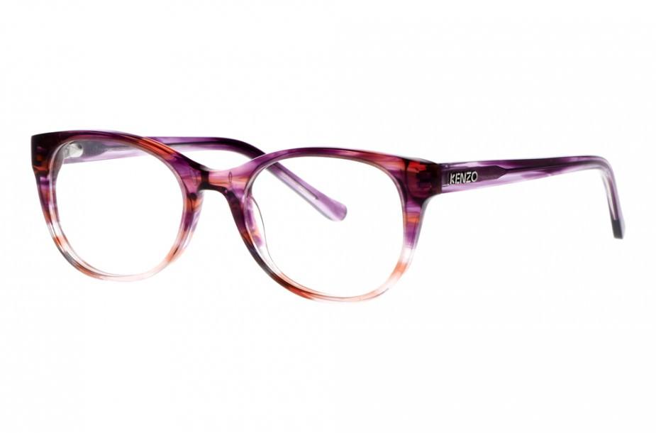 Lumiprod, packshot d'une paire de lunettes de vue Kenzo.