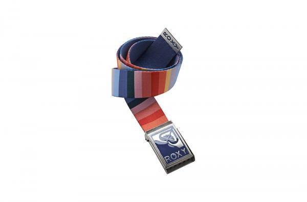 Lumiprod, packshot d'une ceinture multicolore Roxy.
