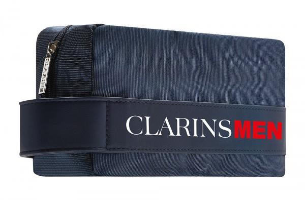 Lumiprod, packshot d'une trousse vanity destinée à accompagner les produits de la gamme ClarinsMen.