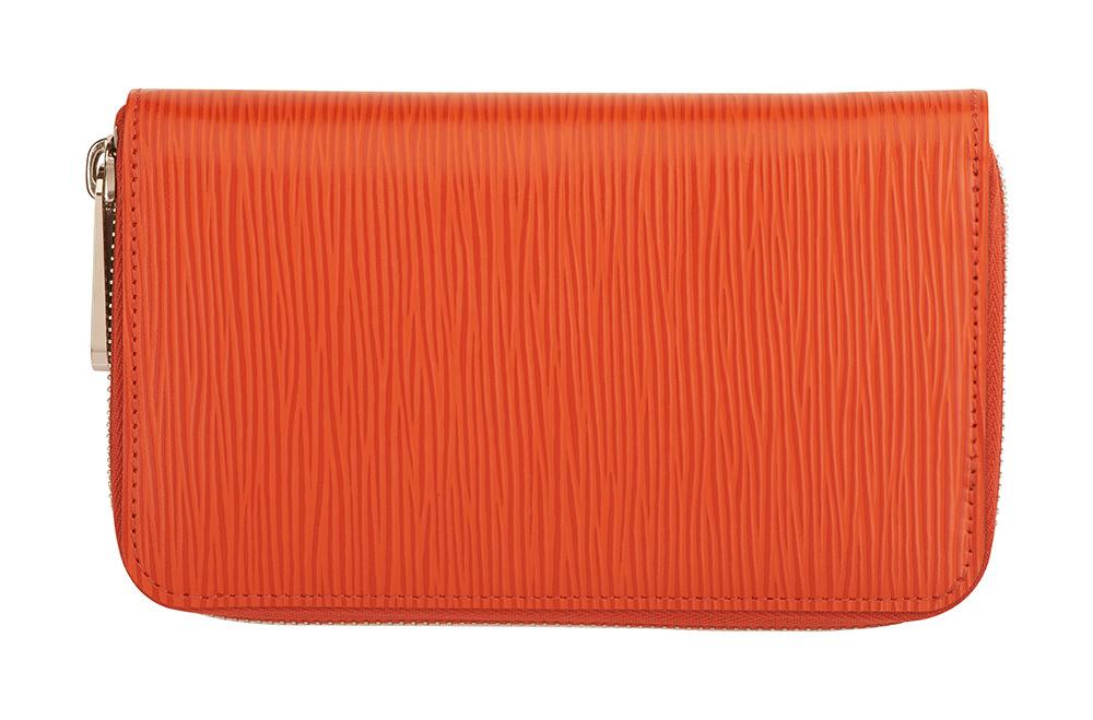 """Lumiprod, packshot d'un portefeuille Louis Vuitton en cuir """"épi""""."""
