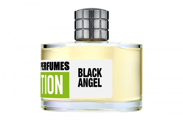 Lumiprod, packshot du flacon Black Angel de Mark Buxton Perfumes.