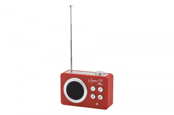 Lumiprod, packshot d'une radio MSF.