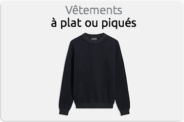 Studio Photo Vetements à plat pique