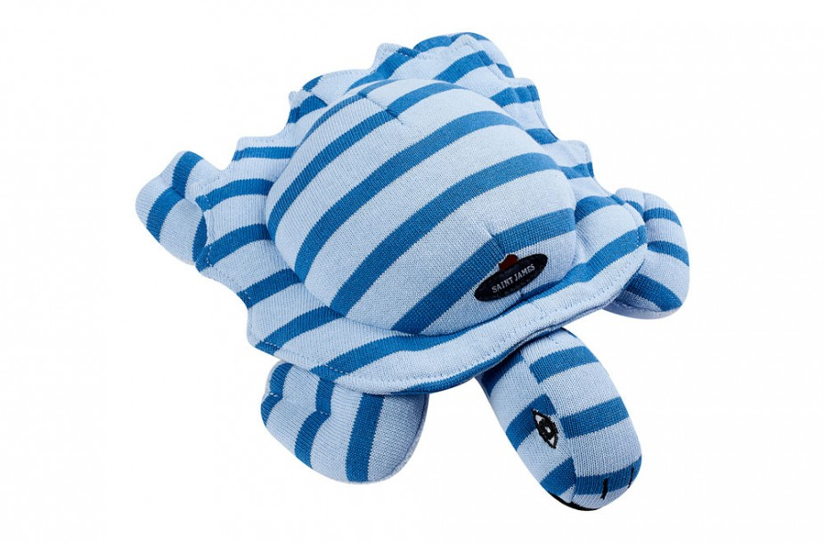 Packshot d'un jouet peluche tortue Saint James