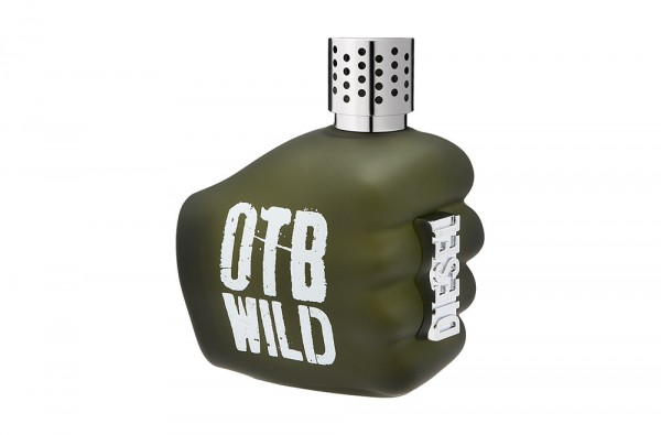 Photographie packshot en studio du parfum Only The Brave Wild by Diesel