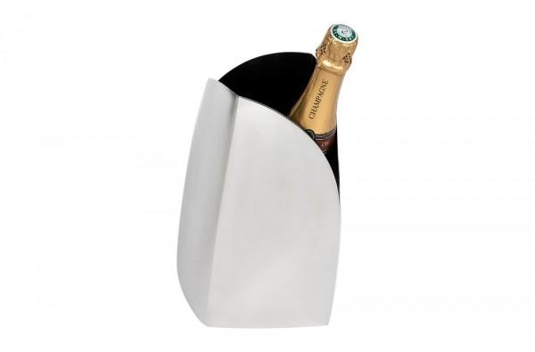 Photographie packshot en studio d'un seau à champagne.
