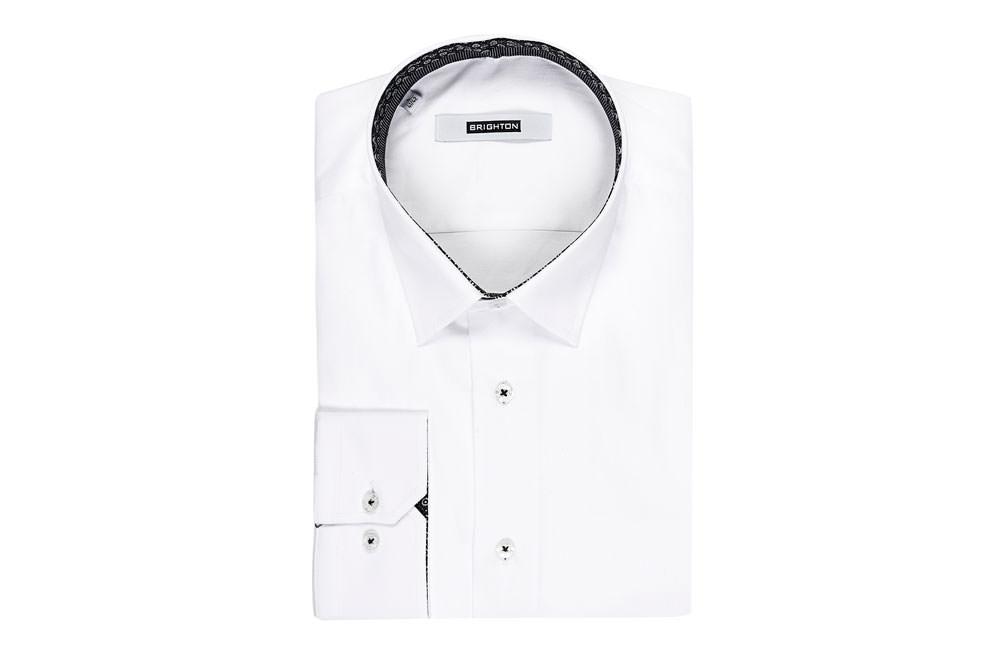 Lumiprod, photographie en studio d'une chemise pour homme pliée.
