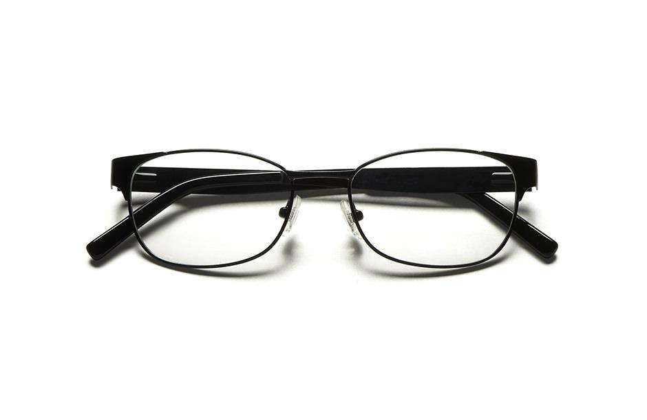Photographie packshot en studio d'une monture de lunettes pliée.