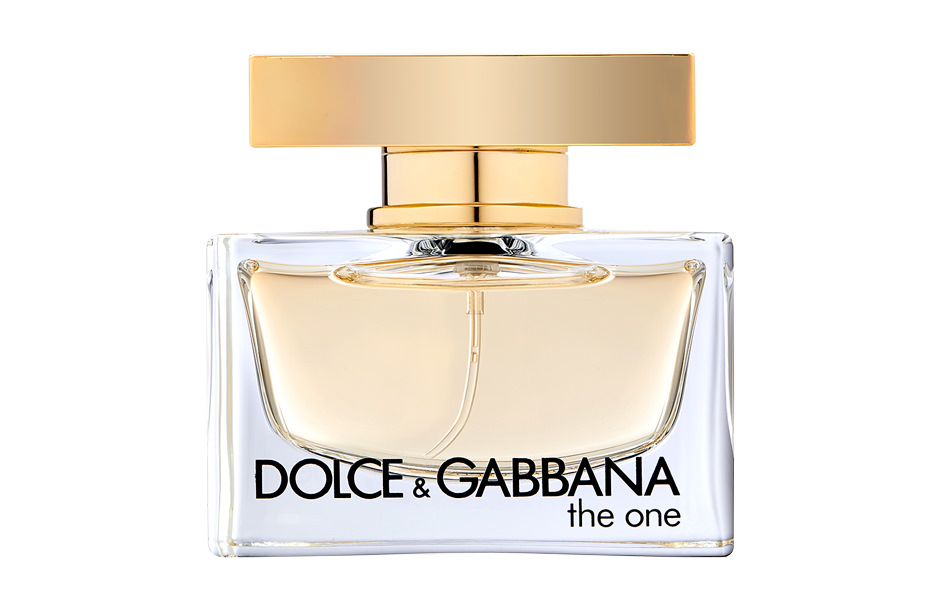 "Lumiprod, photographie packshot en studio du flacon de parfum ""The One"" de Dolce & Gabbana."