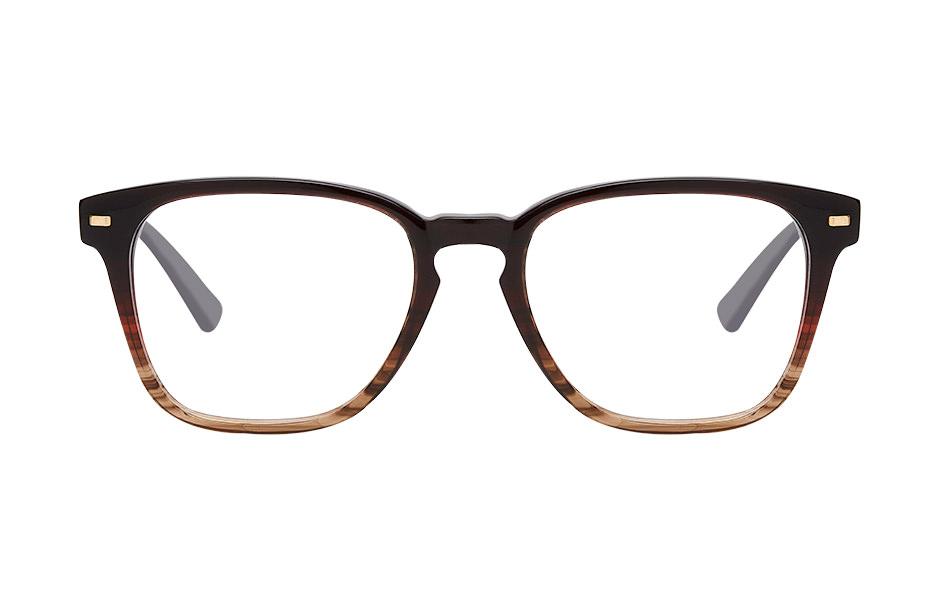 Photographie packshot en studio d'une paire de lunette Claro by Afflelou vue sous différents angles de vue.
