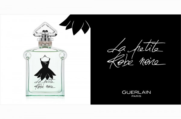 Lumiprod, photographie packshot du parfum La petite Robe noire de Guerlain.