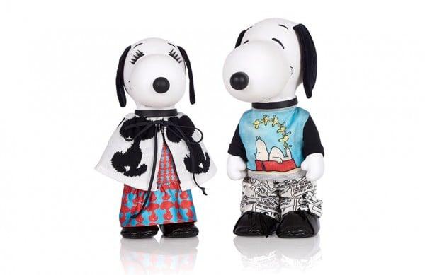 Photographie packshot en studio de Snoopy et Belle pour la fashion week. Tenues de Venera Arapu.