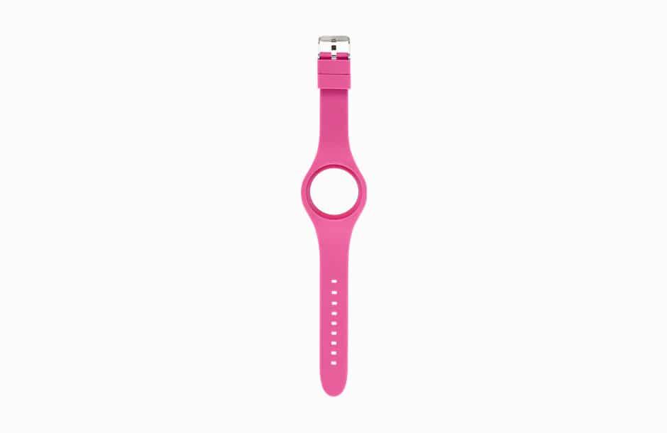 Vue du bracelet sans le cadran amovible de la montre Naughy.