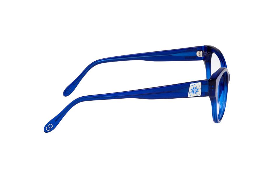 Lumiprod, photographie de profil d'un monture de lunettes Clush.