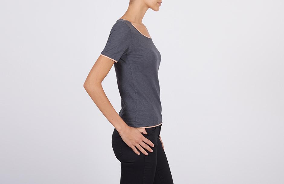 Photographie en studio de vêtements portés sur mannequin pour la vente e-commerce