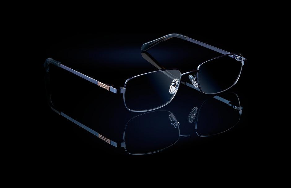 Lumiprod, photographie publicitaire en studio : shooting de lunettes.
