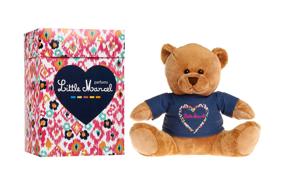 Lumiprod, photographie packshot en studio d'un ours en peluche Little Marcel.