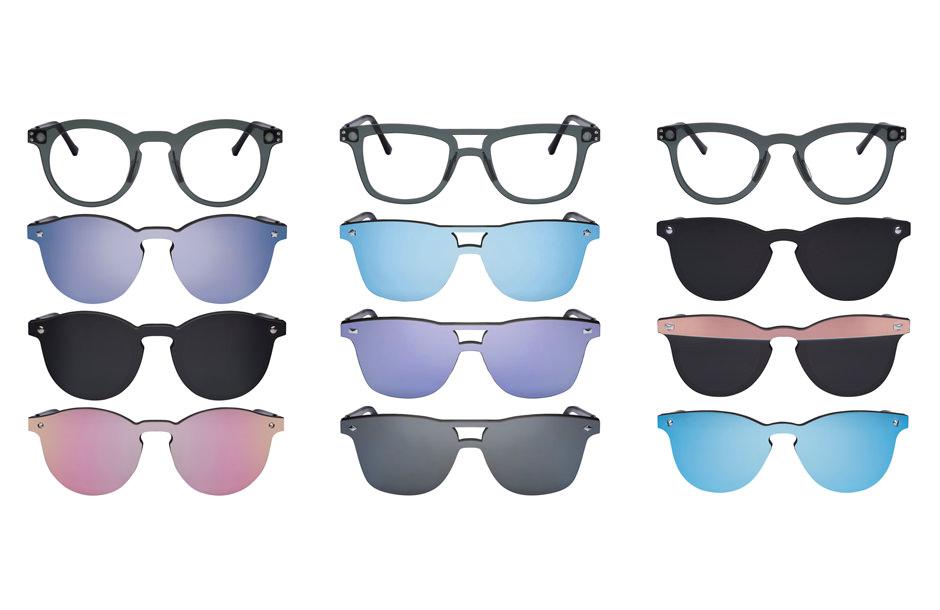 Lumiprod, photographie packshot de verres de lunettes de soleil Afflelou.