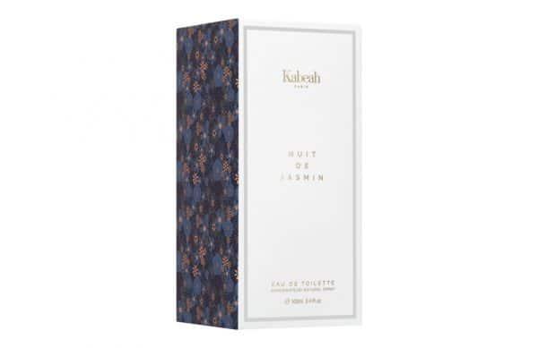 Lumiprod, prise de vue en studio d'un packaging de parfum Kabeah.