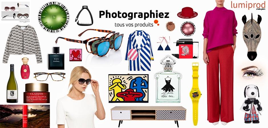 Photographiez tous vos produits