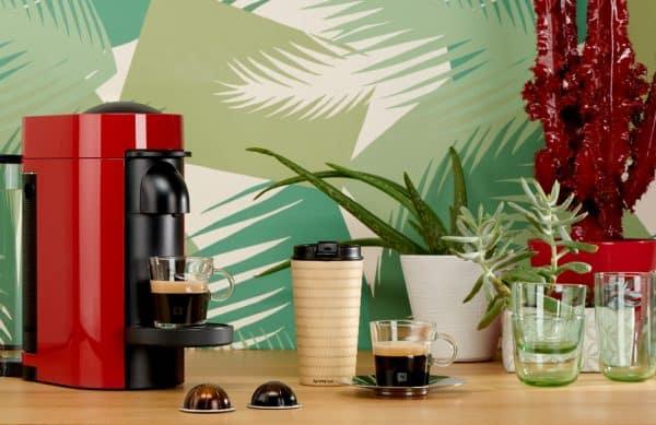 Photographie d'ambiance avec décor pour Nespresso.