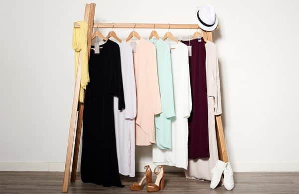 Photographie d'ambiance pour une collection de vêtements.
