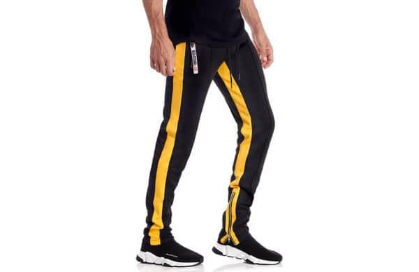 Séance de shooting e-commerce de vêtements de sport portés sur mannequin