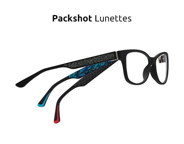 Packshot Lunettes ecommerce